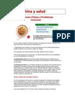 Cocina China y Salud