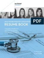 Columbia Resume Book