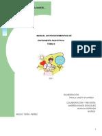 Manual de Tecnicas de Pediatría II 2011