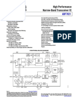 Transceptor  ADF7021