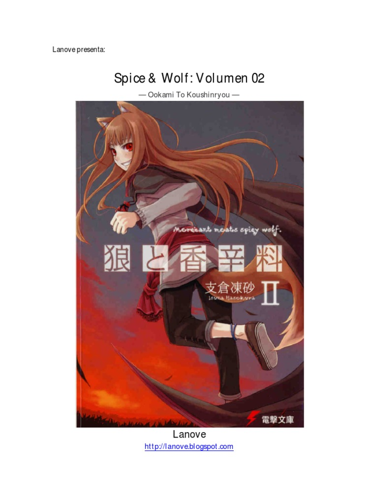 Spice & Wolf Volumen 02 Completo.pdf | Gray Wolf | Meat