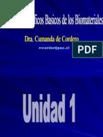 Unidad 1 Biomateriales
