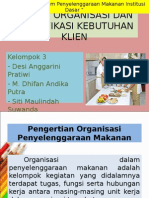 Ppt Tujuan Organisasi Dan Identifikasi Kebutuhan Klien