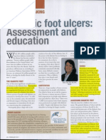 Diabetic Footcare Assessment