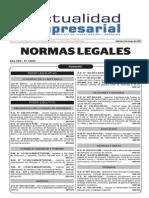 NL20130905 D.S. 008-2013 -VIVIENDA Nuevo Reglamento de Licencia