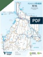 Mapa rutas Rio Negro
