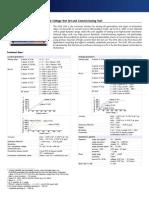 CMC 356 Technical Data ENU