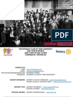 2014-2015 Year in Review - Rotaract Club of York University