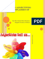 Grammar (Adjectives)