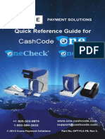 CashCodeone QuickReference Guide