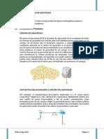 LABORATORIO -FISICA-CENTRO DE GRAVEDAD