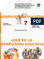 Supervision Educativa