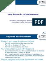 Josy-Datacentre - 12juin2012 - Bases Du Refroidissement