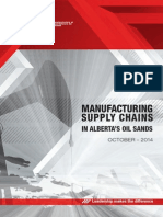 Manufacturing Supply Chains Alberta's Oil