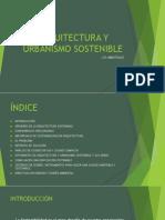 Arquitectura y Urbanismo Sostenibles