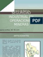 Seguridad Industrial en Operaciones Mineras