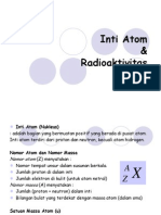 Inti Atom Radioaktivitas