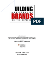 Brand building on the Internet
