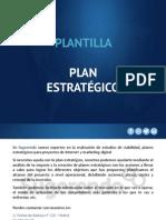 Plantilla de Plan Estrategico1