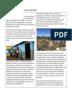 guatemala health service trip 2015