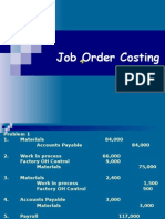 1611 Job Order Costing