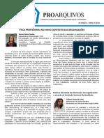 6 Edição - Jornal ProArquivos