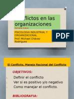 Sesion 09 - Conflictos en Las Organizaciones