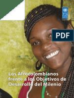 Los Afrocolombianos Frente Al Cumplimeinto de Los ODM - PNUD 2012