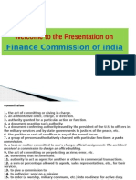 Welcome to the Presentation on finance