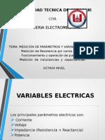 Medición de Parámetros y Variables Eléctricas