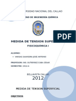 5to Labo Fico - Tension Superficial