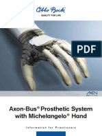 Axon Bus Prosthethic System With Michelangelo Hand