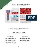 Microtecnica de Aglutinacion en Gel