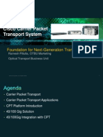 Cisco CPT Cnsf2011 Foundationfornext Generationtransport Rameshpillutla 110526140533 Phpapp01