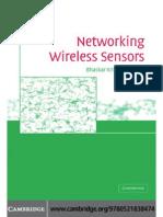 wireless sensor network notes