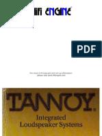 Tannoy 1976 Brochure