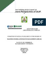 Insurance Project on ULIP-K JAIN