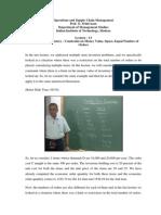Operation  management-NPTEL-Lec 5