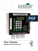 Flow Monitor Manual First Edition Rev 1