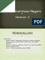 Sosialiasi Peralihan Sistem Penerimaan Negara MPNG1 ke MPN G2