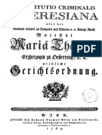 Constitutio Criminalis Theresiana 1768