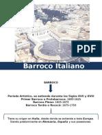 Arquitectura Barroco Italiano