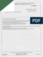 O/N/04 History O Level Paper II