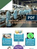 Factores de La Capacidad de Producción
