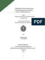 PENGEMBANGAN APLIKASI SISTEM ABSENSI KARYAWAN DENGAN METODE BARCODE PADA PT. KEMENANGAN JAYA.pdf