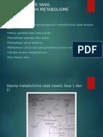 Faktor Faktor Yang Mempengaruhi Metabolisme Obat