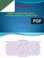 Hdm Steel Pipe Presentation