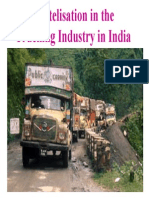 Trucking industry in India