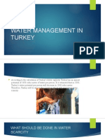 Turkey students Lecture Water Management