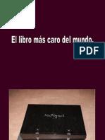 El Libro Mas Caro Del Mundo